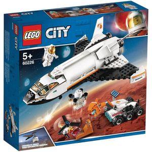 ASSEMBLAGE CONSTRUCTION LEGO® City 60226 La navette spatiale - Jeu de cons