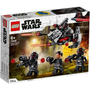 ASSEMBLAGE CONSTRUCTION LEGO Star Wars™ 75226 Pack de combat de l'Escouade