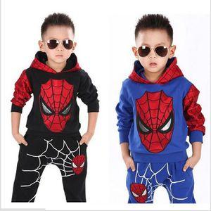Ensemble de vêtements 3-7 Ans Enfant Garçon Vêtement Super-héro Survêtem