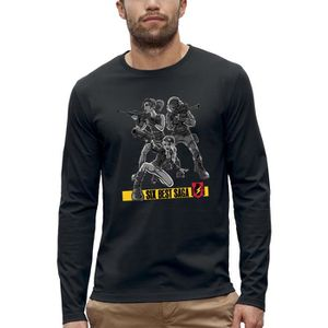 T-SHIRT T-shirt manches longues SIX BEST SAGA - PIXEL EVOL