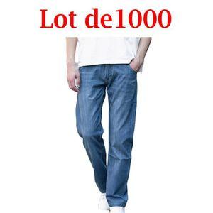 JEANS Jeans homme de marque luxe Jeans Version lâche Gra