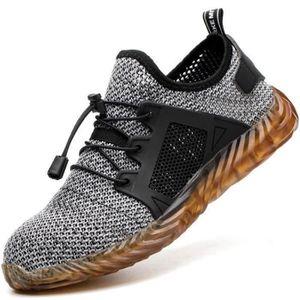 Chaussures de sécurité Gris homme - Cdiscount Chaussures