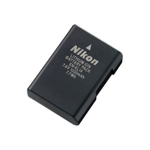 BATTERIE APPAREIL PHOTO Lot de 2 Batteries Type Nikon EN-EL14 pour Nikon D