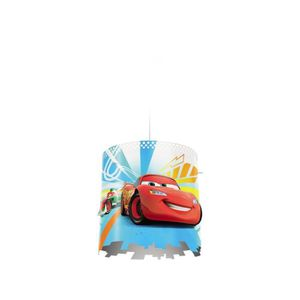 LUSTRE ET SUSPENSION PHILIPS DISNEY Abat-jour Cars composite Chambre en