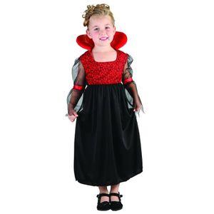 DÉGUISEMENT - PANOPLIE Costume Halloween 3-4ans: Vampiresse (x1) REF/8276