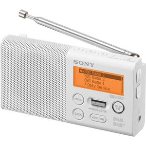 RADIO CD CASSETTE SONY XDRP1DBPW Radio numérique - DAB/DAB +/ FM VIS