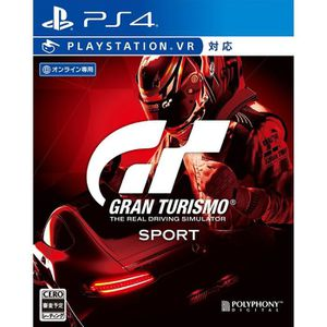 JEU PS4 Gran Turismo Sport VR SONY PS4 PLAYSTATION 4  Impo