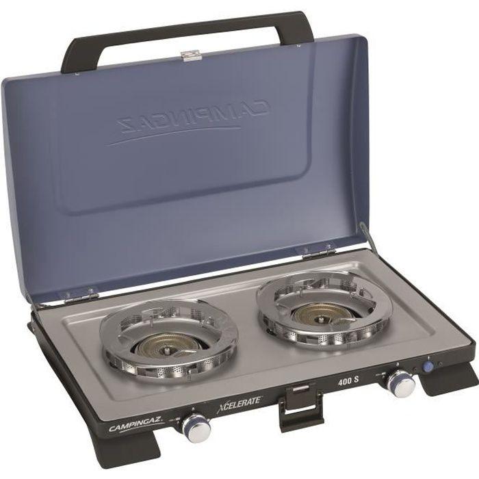 CAMPINGAZ Réchaud 2 Feux 400 s Xcelerate™ Burner System - 2 x 165 gr