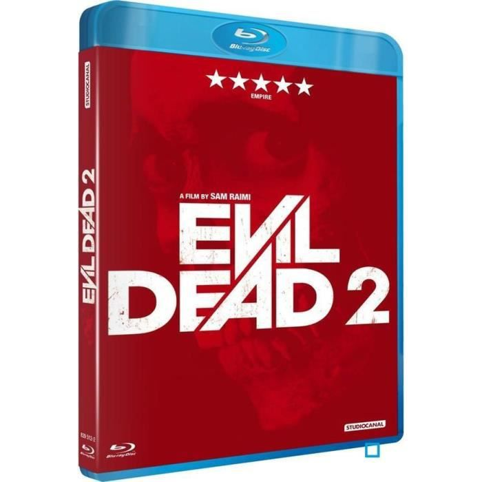 blu ray evil dead 2 en blu ray film pas cher cdiscount. Black Bedroom Furniture Sets. Home Design Ideas