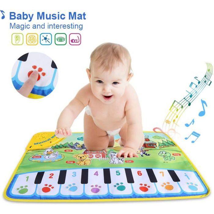 Tapis de musique de bébé jouet de musical éducatif ---SEC