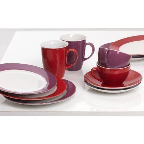 Ritzenhoff - Breker 597226 - COMMUTATEUR KVM - Doppio Service à café Rouge 12 pièces