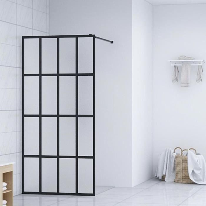 Écran de douche - Paroi de douche - porte de douche - Verre trempé 80x195 cm