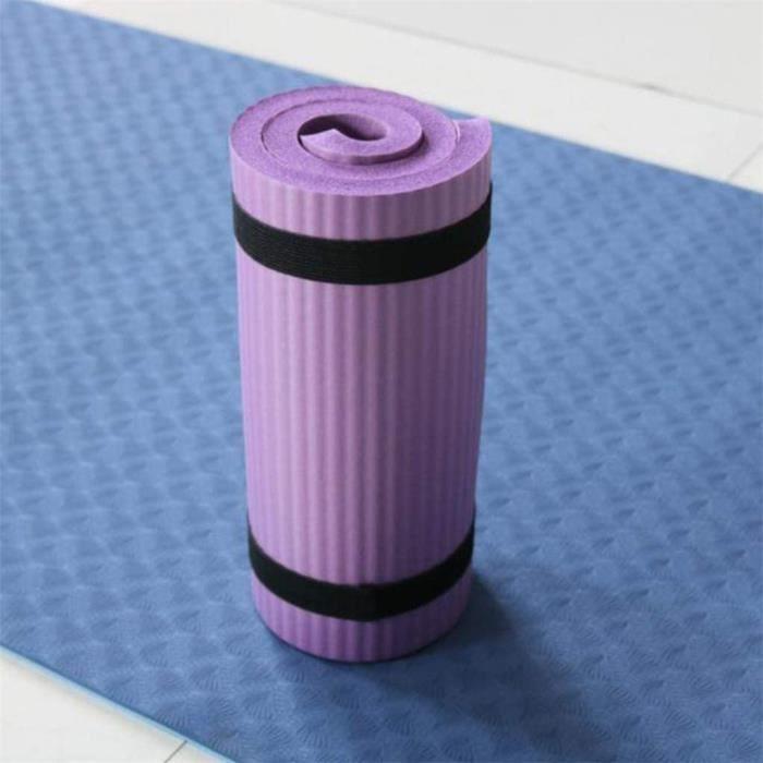 TAPIS DE YOGA Garispace Tapis de Yoga Tapis de Yoga Professionnel Classique Gym NBR Tapis d'exercice de Fitness antid&eacuterap495