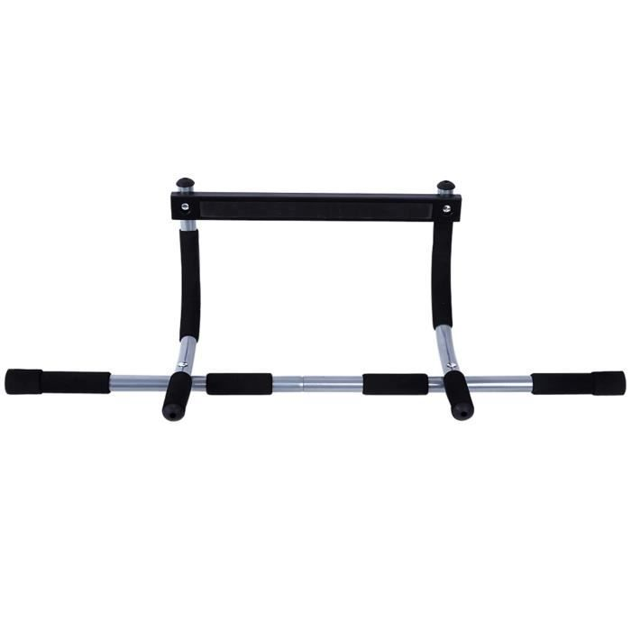 AYNEFY Barre de traction Multi Grip Chin Up / Pull Up Bar Heavy Duty Exercise Fitness Gym Home Door Mounted Trainer Plus
