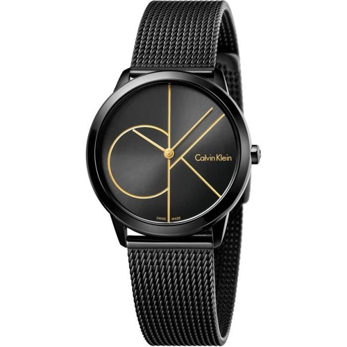 Calvin Klein Minimal K3M224X1 montre Classique & Simple