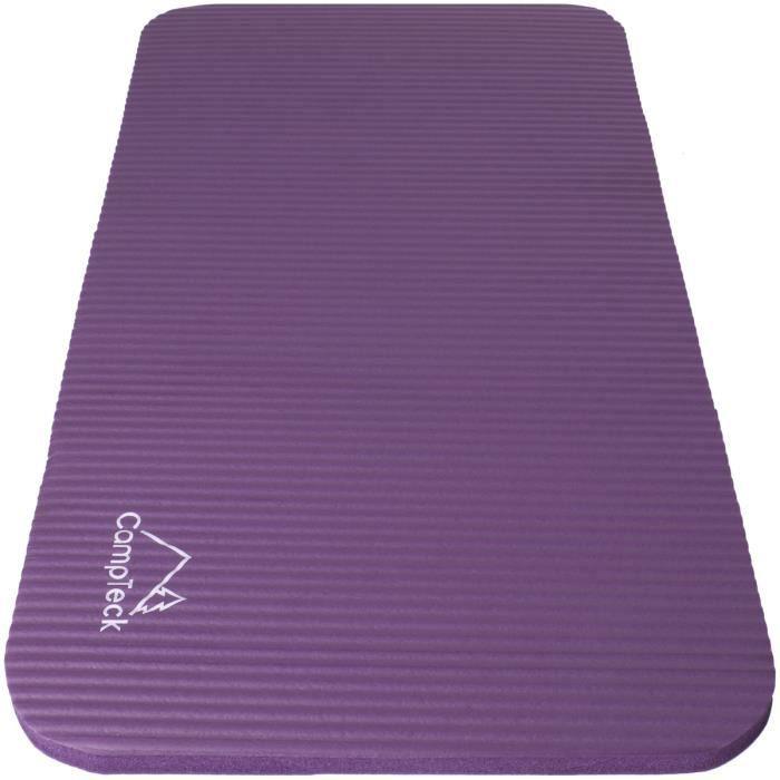 CampTeck U6963 - Coussin de Yoga Genoux en Mousse Antidérapante Mini Tapis Genouillère Yoga pour Fitness, Exercice, Gymnastique..