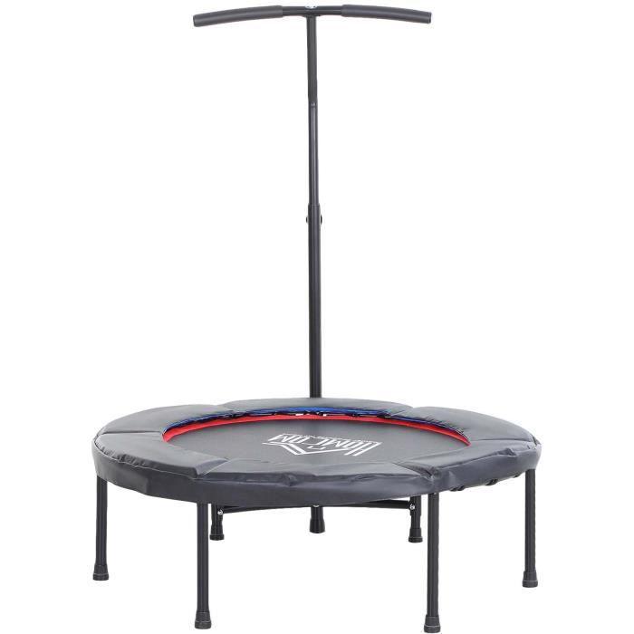Trampoline de Fitness 100x100x108cm Noir