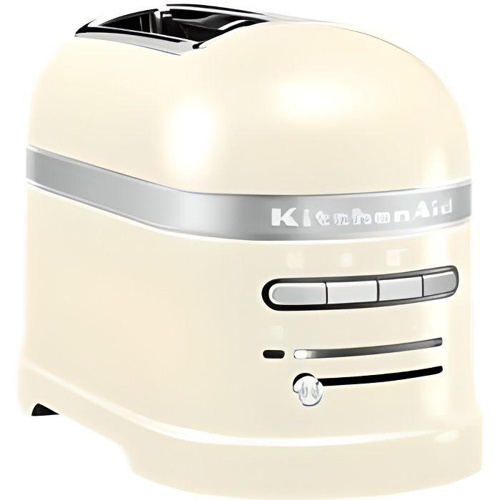 Kitchenaid - grille-pains 2 fentes 1250w crème - 5kmt2204 eac