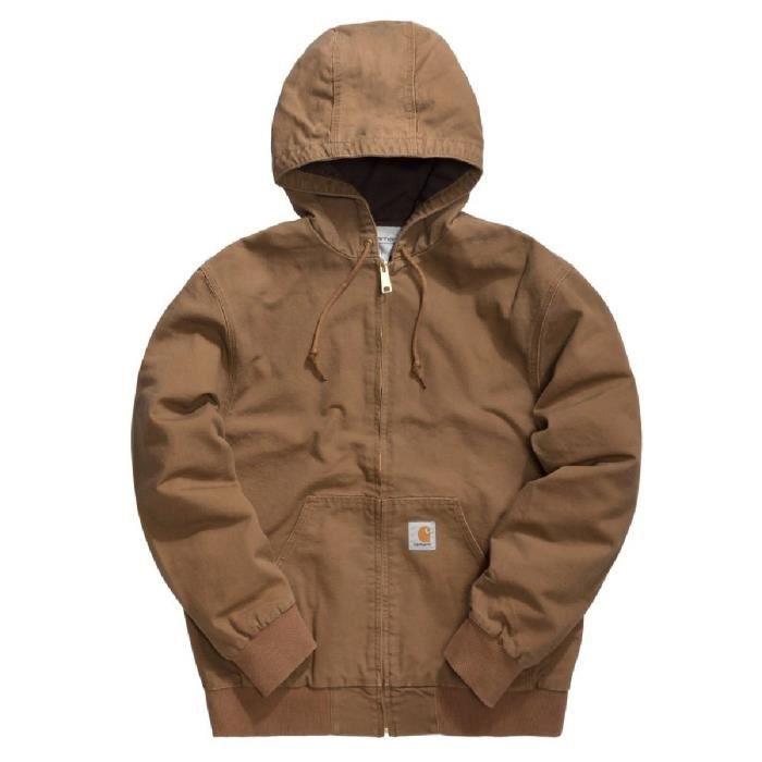 Veste Carhartt Active Jacket Marron