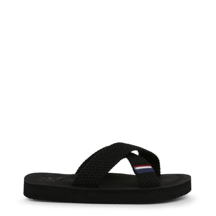U.S. Polo - Nu-pieds et Tongs pour homme (EGADI4134S9_T2_BLK) - Noir