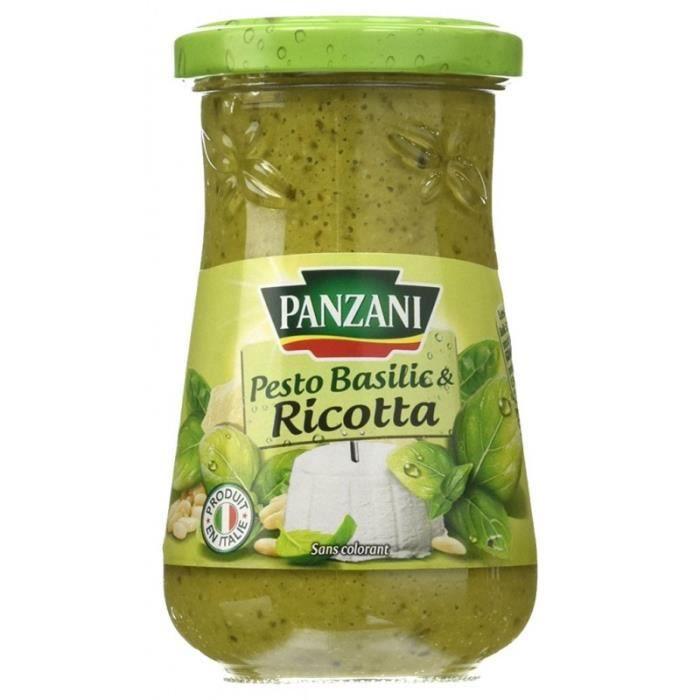 Panzani Sauce Pesto Basilic Ricotta 190g