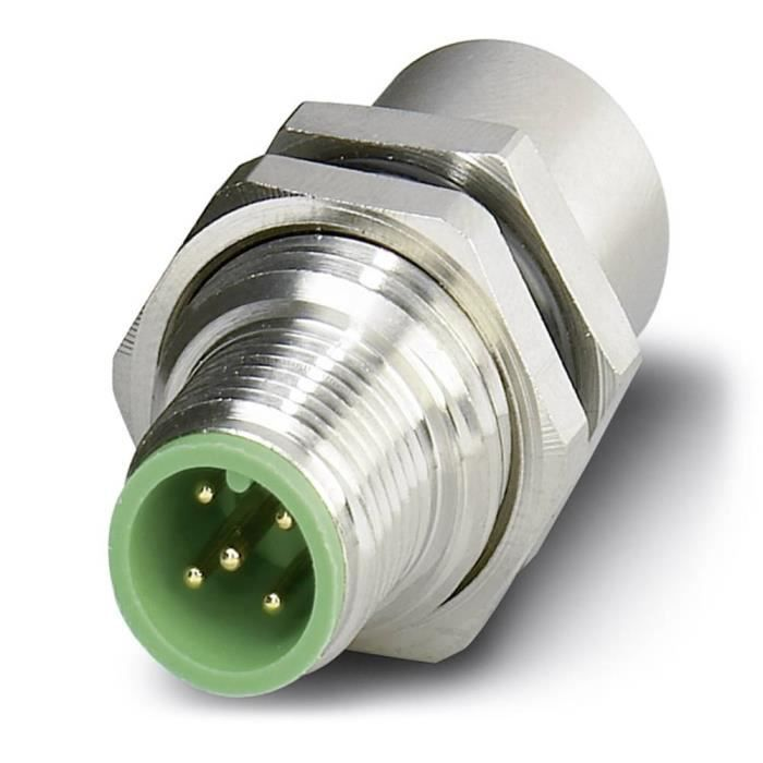Traversée pour armoire électrique Conditionnement: 1 pc(s) Phoenix Contact SACC-5P-DSI-M12MS-FS-M16 1551671