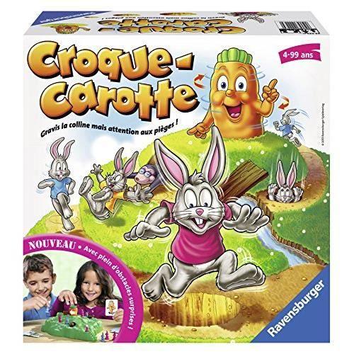 Ravensburger- Croque Carotte - Jeu de société pour enfants - Dès 4 ans - 22223 22223