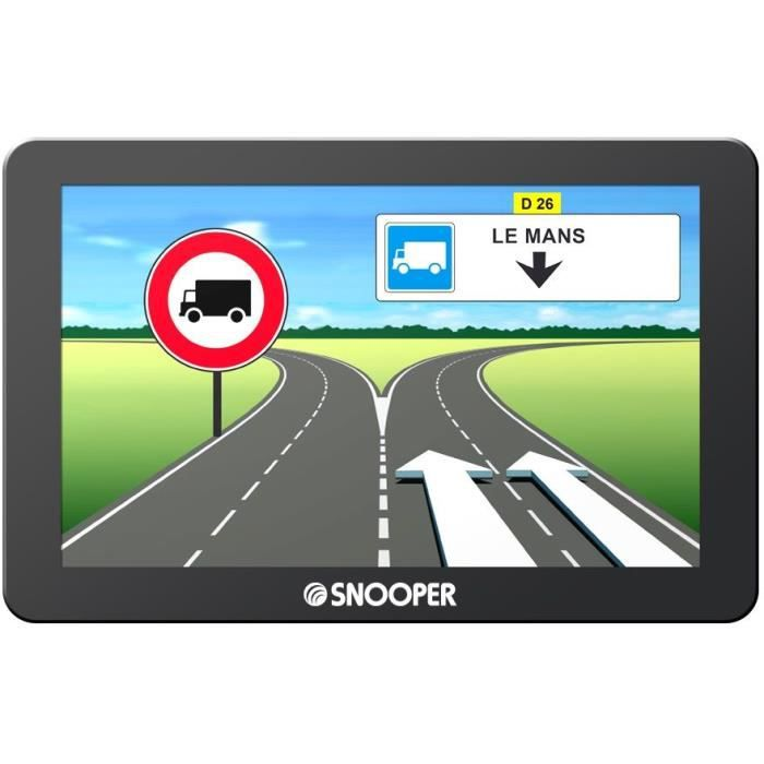 GPS poids-lourd Snooper PL2400 avec Mise à jour…