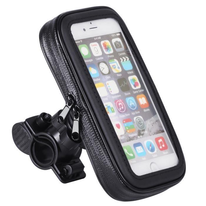 TRIXES Support Anti-Eclaboussures de Moto et Vélo pour iPhone 6 et Smartphone