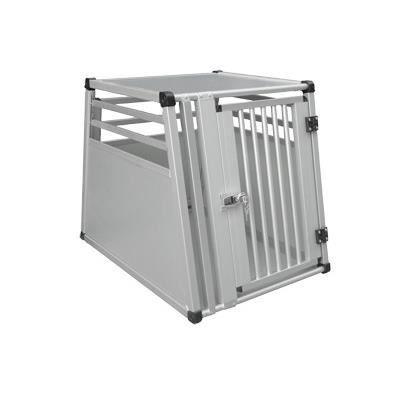 Box de transport alu pour 1 chien 82x63x66cm L