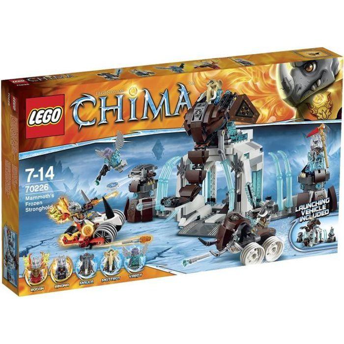 Photo de lego-chima-70226-la-forteresse-glacee-du-mammouth