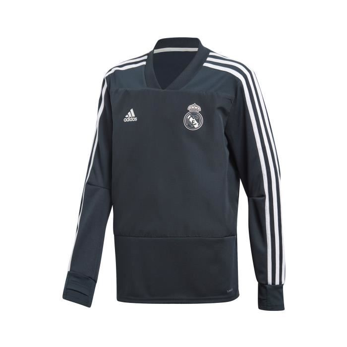 Entraînement Real Sweat Junior Bleu adidas Madrid ymOnw8vN0