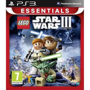 JEU PS3 LEGO Star Wars 3 : The Clone Wars Jeu PS3