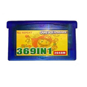 JEU DS - DSI 369 en 1 GBA cartouche de jeu vidéo multicart pour