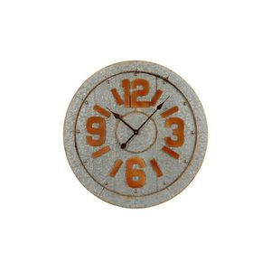 HORLOGE - PENDULE Horloge Murale Zinc Style Industriel - Diamètre 68