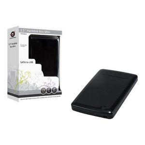 DISQUE DUR EXTERNE Conceptronic CHD2MUB 2,5 Harddisk Box Mini