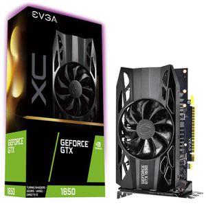 CARTE GRAPHIQUE INTERNE EVGA Carte graphique EVGAGeForce GTX 1650 - 4 Go G