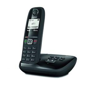 Téléphone fixe Gigaset AS470A Solo - Téléphone Fixe sans fil - Ré