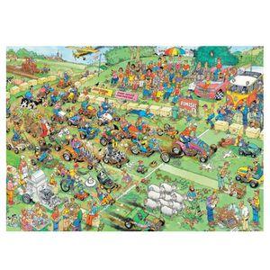 PUZZLE Puzzle 2000 pièces : Jan Van Haasteren : Course de