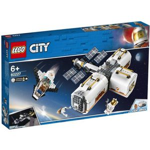 ASSEMBLAGE CONSTRUCTION LEGO® City 60227 La station spatiale lunaire
