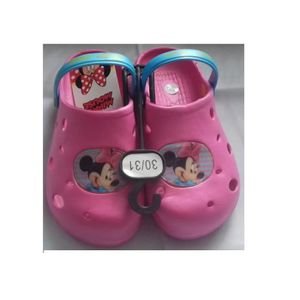 CHAUSSON - PANTOUFLE crocs minnie rose