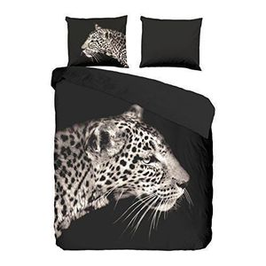 housse couette leopard achat vente housse couette. Black Bedroom Furniture Sets. Home Design Ideas