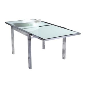 Table carree extensible achat vente table carree - Table de jardin carree extensible ...