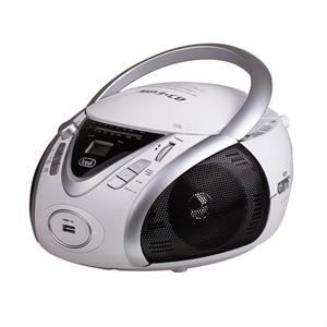 RADIO CD CASSETTE TREVI 0054201 Radio CD Portable - USB - Jack 3,5mm
