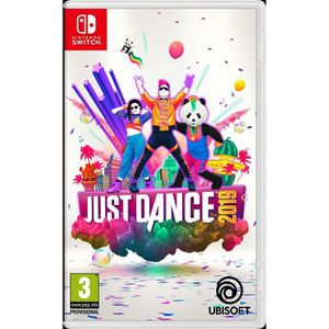 JEU NINTENDO SWITCH Just Dance 2019 Jeu Switch + porte clef