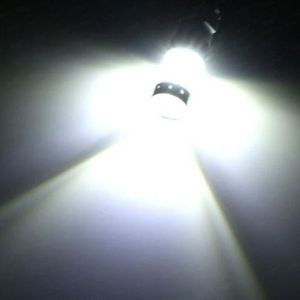 EBTOOLS 2 PCS H3 Super Lumineux 6000 K Brouillard De Conduite Lumi/ère Bleu 100W LED Kit Ampoules Phares Brouillard De Voiture Conduite Lumi/ère