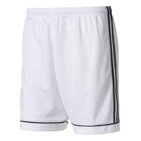 ADIDAS SQUADRA 17 SHO Short homme - Blanc / Noir