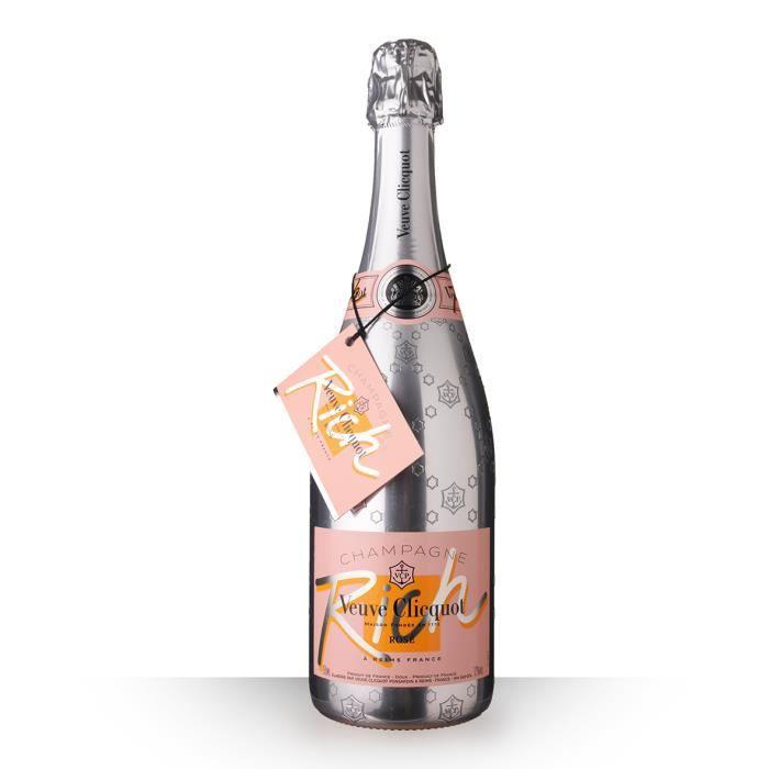 Veuve Clicquot Rich Brut Rosé 75cl - Champagne