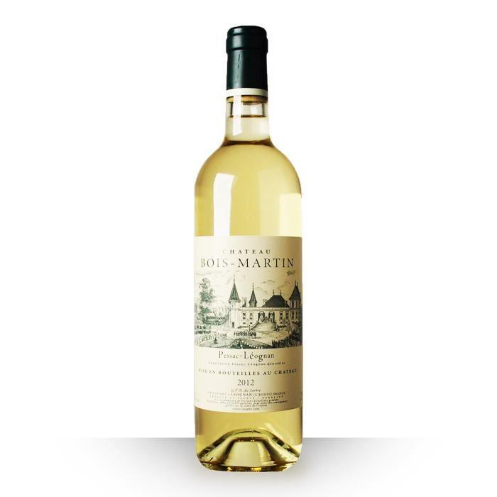 Château Bois-Martin 2012 Blanc 75cl AOC Pessac-Léognan - Vin Blanc
