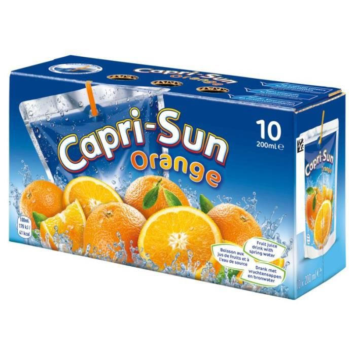 CAPRI-SUN Multivitaminés Poches Nomades 10x20cl